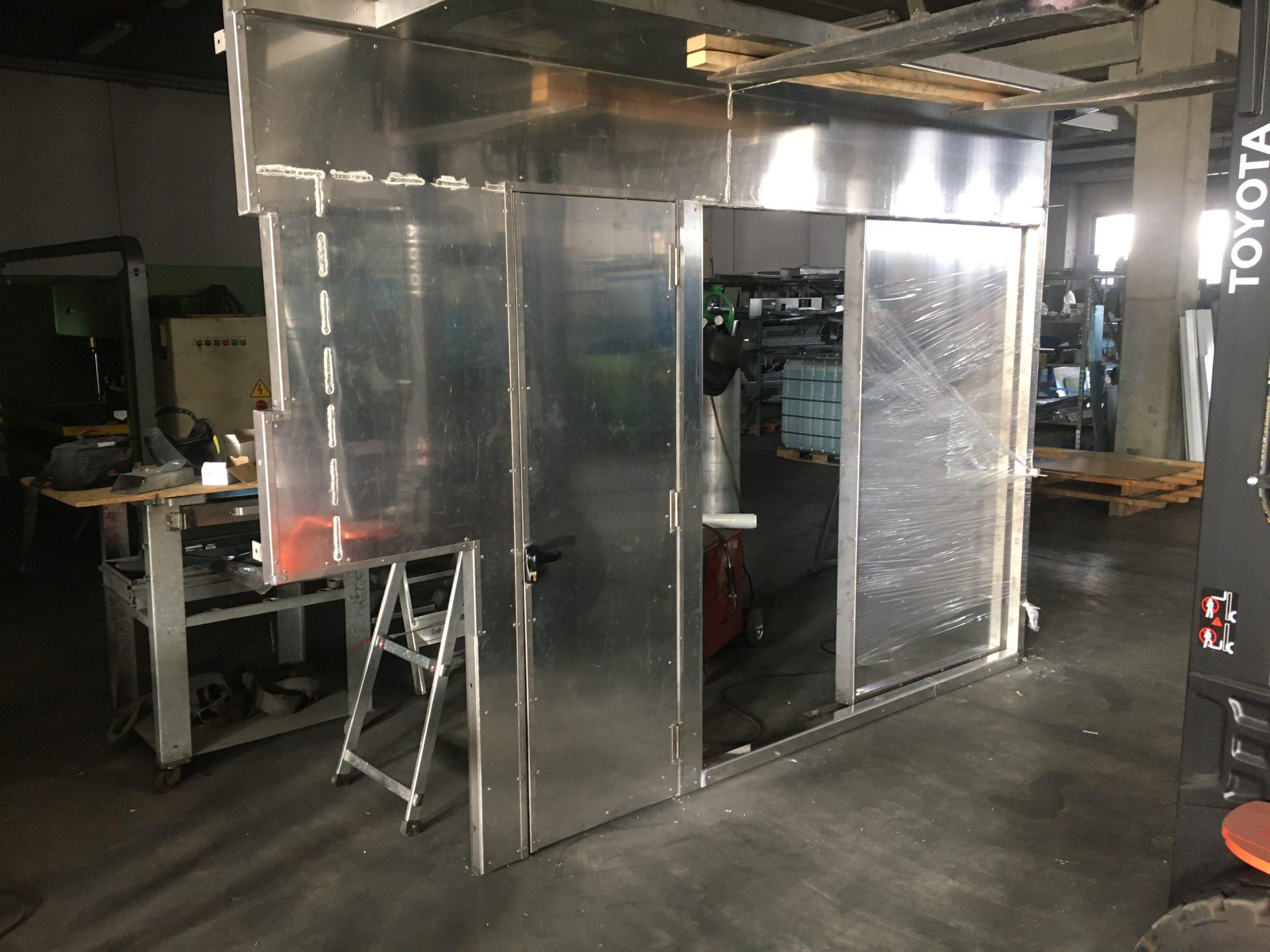 schermo isolante per le acciaierie di Terni